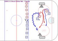 D200 2-2 Shoot Either Net – Flames