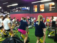 F - Spin Class on Exercise Bikes – U18 Girl's – Player Led