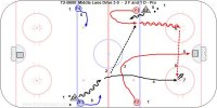 T2-B600  Middle Lane Drive 3-0  -  2 F and 1 D - Pro