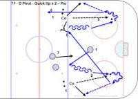 T1 - D Pivot - Quick Up x 2 – Pro